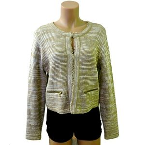 Style & co. Tweed knit blazer jacket Med